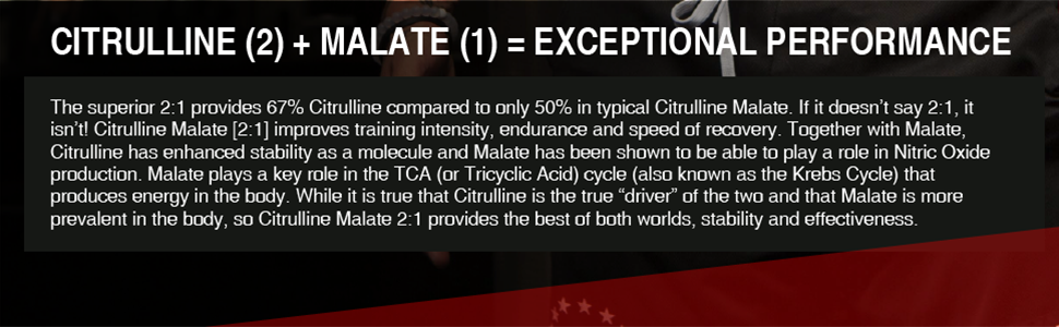 citrulline malate exceptional performance