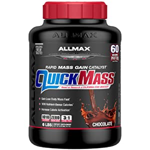 quickmass protein 6 pound gain weight
