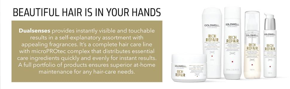 dualsenses hair care goldwell rich repair