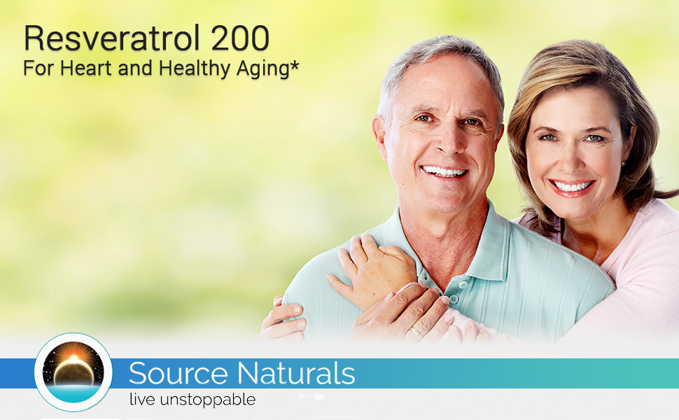 resveratrol heart and healthy aging couple