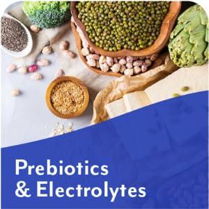 prebiotics and electrolytes
