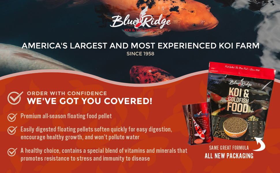americas largest and most experienced koi arm since 1958 floating fish food pellets