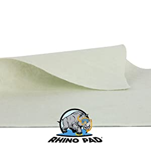 Rhino-Pad Protection for Swimming Pool Liner