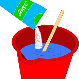 Requires pre-dissolving; dissolve shock in a bucket of water before applying to your pool water