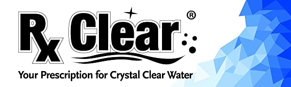 Rx Clear Chemicals is your prescription for crystal clear swimming pool water
