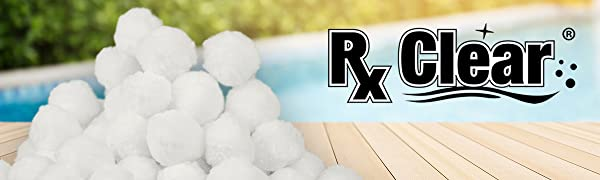 Rx-Clear Banner for Luster-Filter-Balls