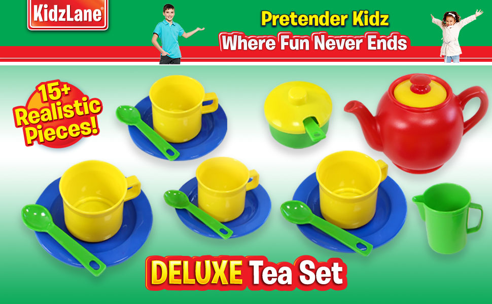 tea set for children tea set for kids plastic tea set tea party