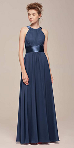 3ef880f67e8 One Shoulder Toga Bridesmaid Dress · Jewel Neck Long Prom Dress · V-Neck  Ruffle Evening Dress · Jewel Neck Halter Long Prom Dresses ...