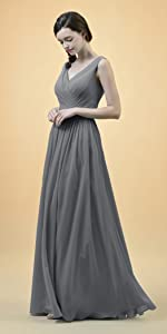 One Shoulder Toga Bridesmaid Dress · Jewel Neck Long Prom Dress · V-Neck Ruffle Evening Dress · Off The Shoulder Maxi Prom Gown · Halter Pleated Bridesmaid ...