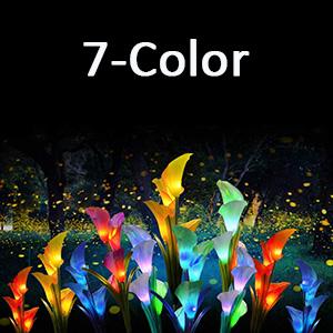 7 Renk Değiştirme