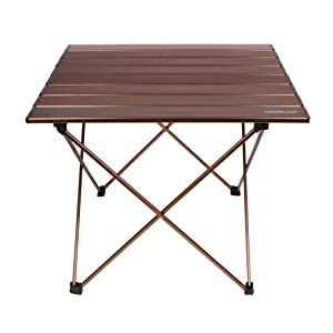 Medium size camping side table