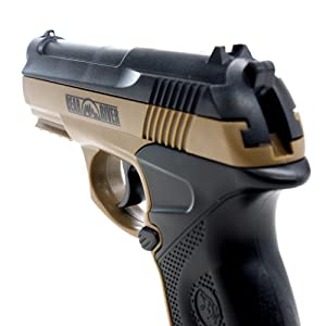 airsoft, airsoft iron sites, airsoft pistol, pistol, black ops