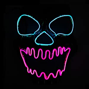 Light Up Scary Mask