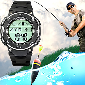 Tide Graph Moon Phase Fishing Watch