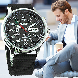 Radio-Controlled Military Watch