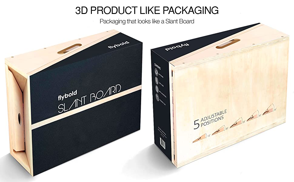 3d product like packaging