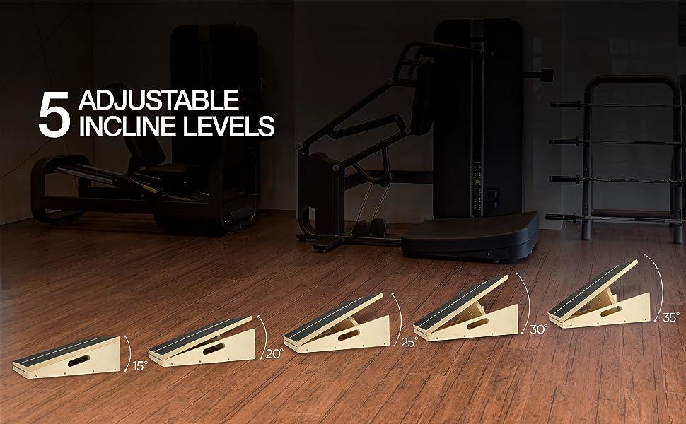 5 adjustable angle