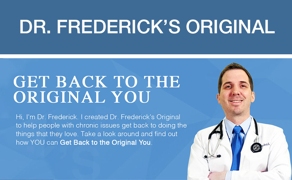 Dr. Frederick's Original on Amazon.com
