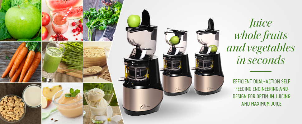 Optimum 700 Advanced Cold Press Juicer By Reputable Australian Brand:  Optimum