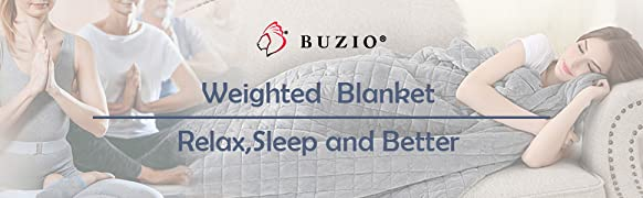 Buzio Weighted Blankets are a safe and effective non-drug therapy for anyone seeking a solution for loss of sleep and relaxation.