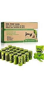 24Roll Dog Poop Bags
