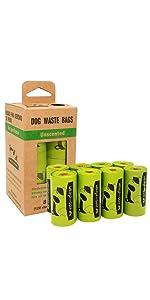 8 Rolls Dog Poop Bags