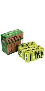 16 Rolls Dog Poop Bags