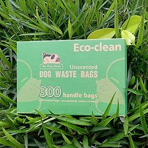 Eco-clean Biodegradable Dog Poop Bags