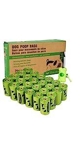 24 Rolls Dog Poop Bags
