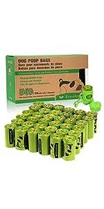 36 Rolls Dog Poop Bags