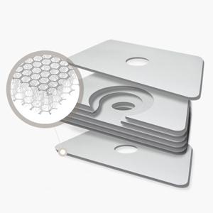 3D duplex air mesh fabric
