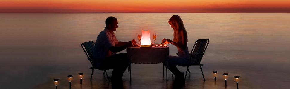 Romantic Touch Sensor Lamp