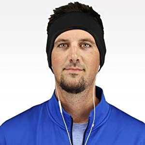 Amazon.com  Winter Running Ear Warmer Headband Muffs for Men Women ... 37850f3018e