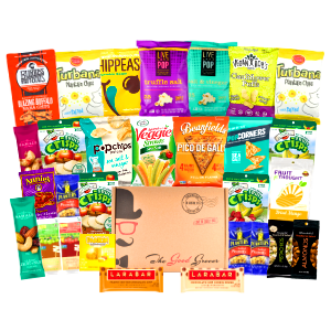 healthy gluten free vegan snacks gift box college corporate finals easter variety dairy free