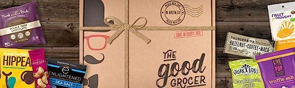 healthy snacks gift box gluten free vegan dairy free