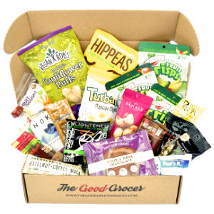 vegan snacks care package gift box college student food dairy free christmas holiday basket