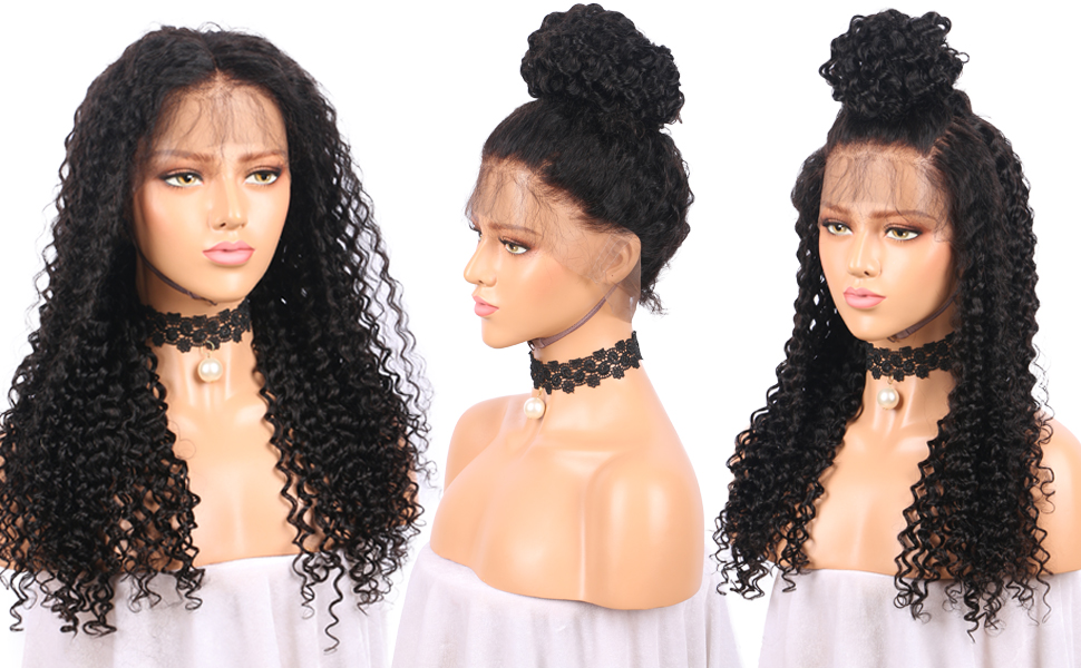 Hair Extensions & Wigs Lace Wigs Eversilky Base Curly Silk Top Wig Lace Front Human Hair Wigs For Black Women Brazilian Remy Hair Pre Plucked 50% OFF