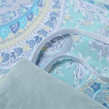 pillow cases paisley pillow covers king shams blue