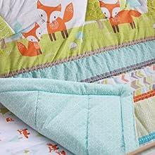 baby comforter cotton crib comforter sets boys quilt sets girls nursery decor woodland crib bedding