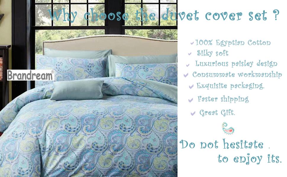 paisley bedding paisley duvet cover king damask bedding queen duvet cover floral bedding blue