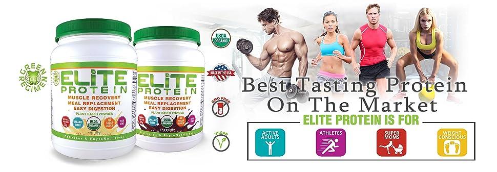 Amazon.com: Elite Protein - Proteína en polvo orgánica a ...