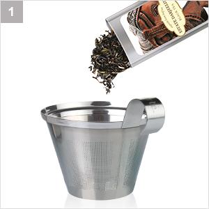 Muestras de té en hebras sueltas Tea Forte, 15 ...