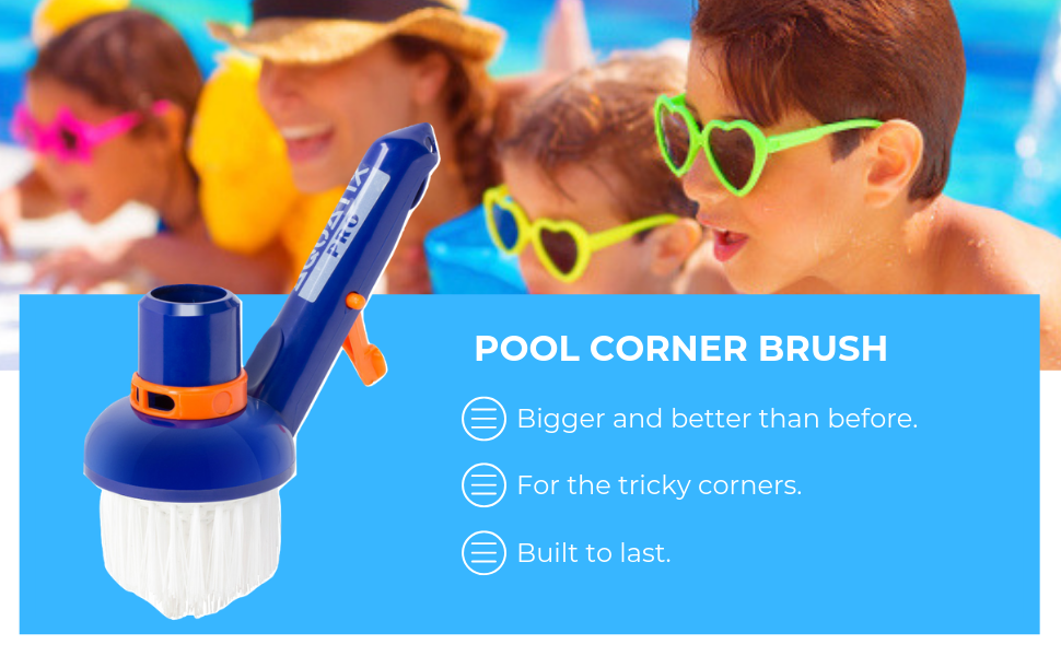 pool corner brush