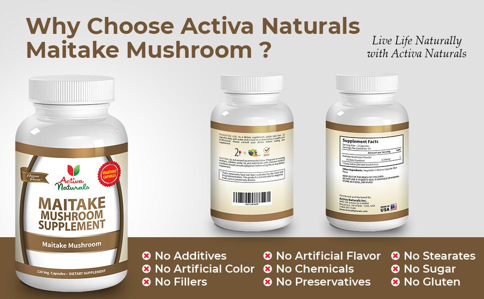 maitake mushroom supplement 2