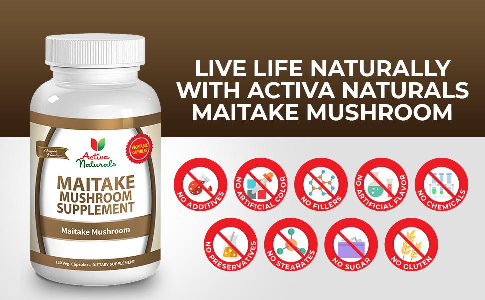 maitake mushroom supplement 1