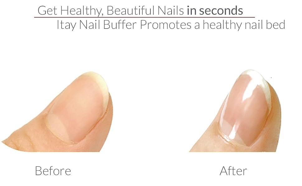 nail buffer for shiny nails