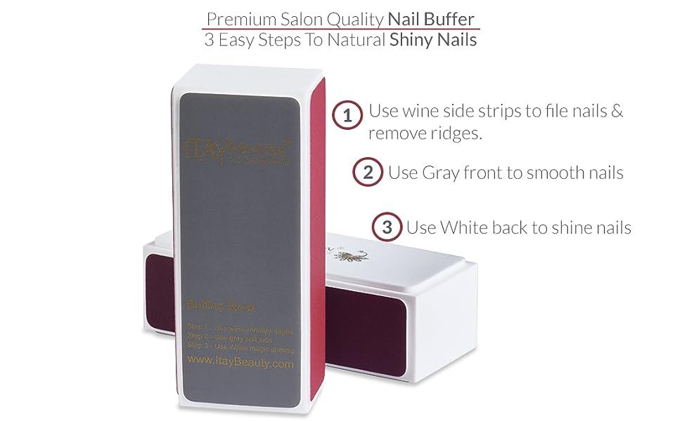 Nail buffer instructions