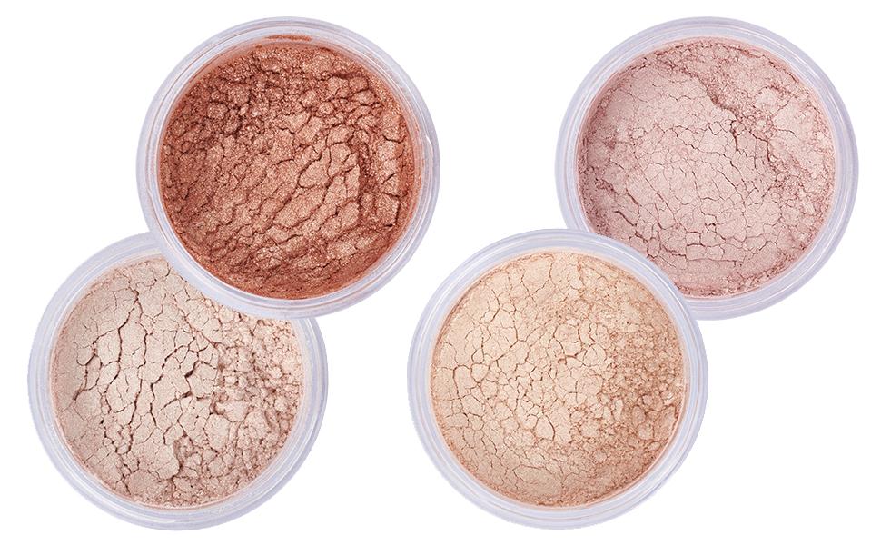 highlighter makeup powder