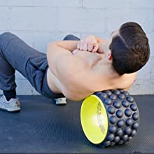 back roller foam roller yoga wheel