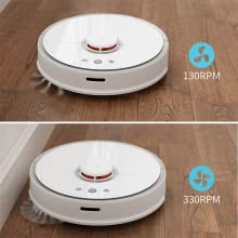 robotic vacuum and mop